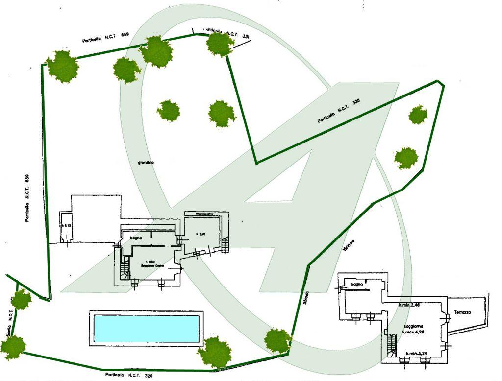 Villa in vendita a Rapallo Sant'Andrea Di Foggia Chignero